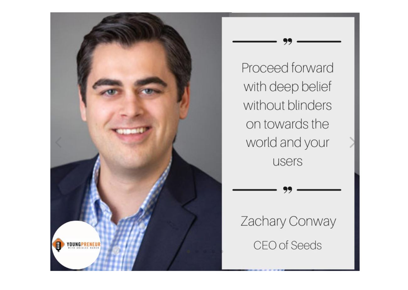 Youngpreneur Podcast: Balance the Path Ahead with Zachary Conway