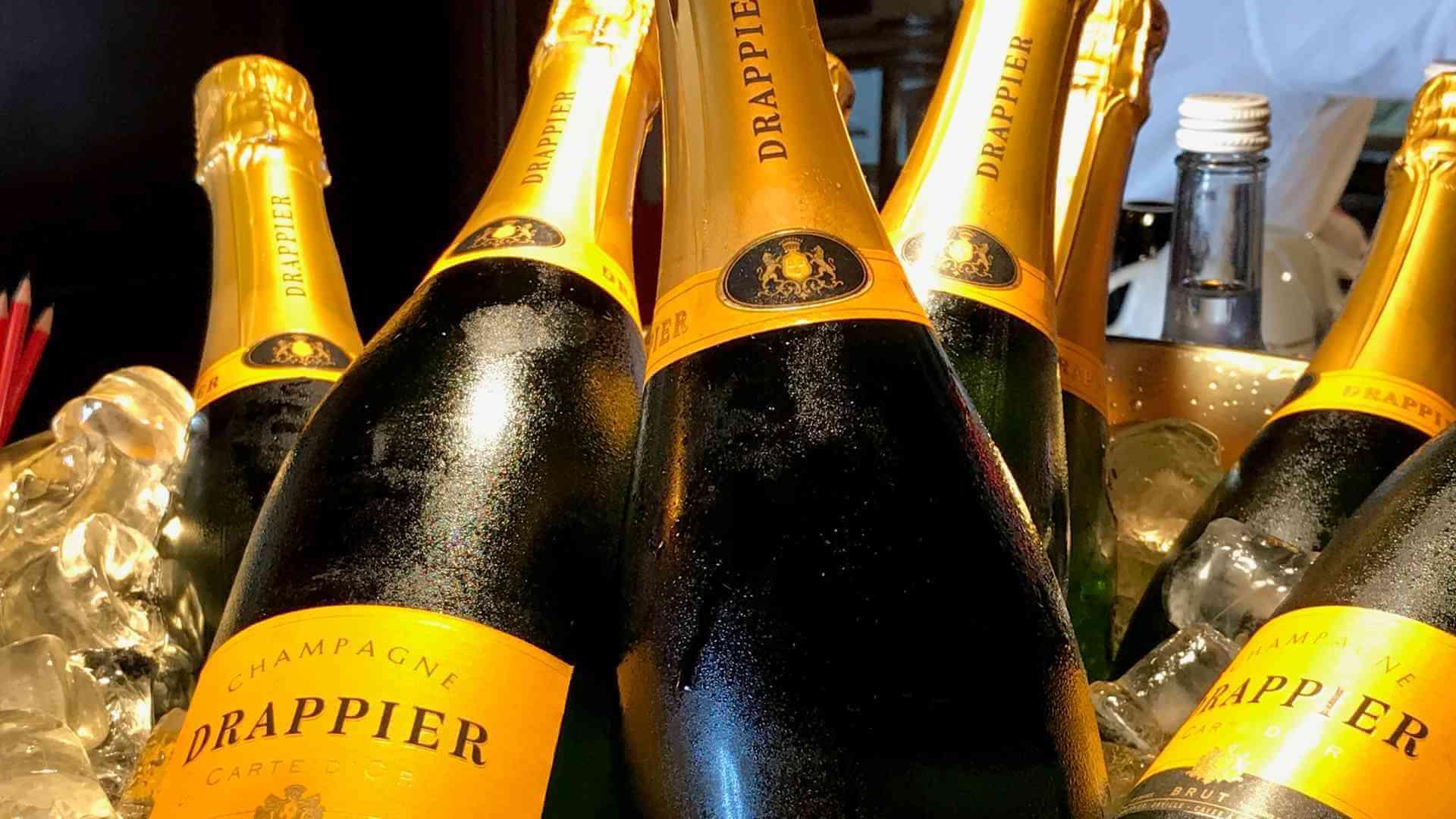 Champagner Flaschen