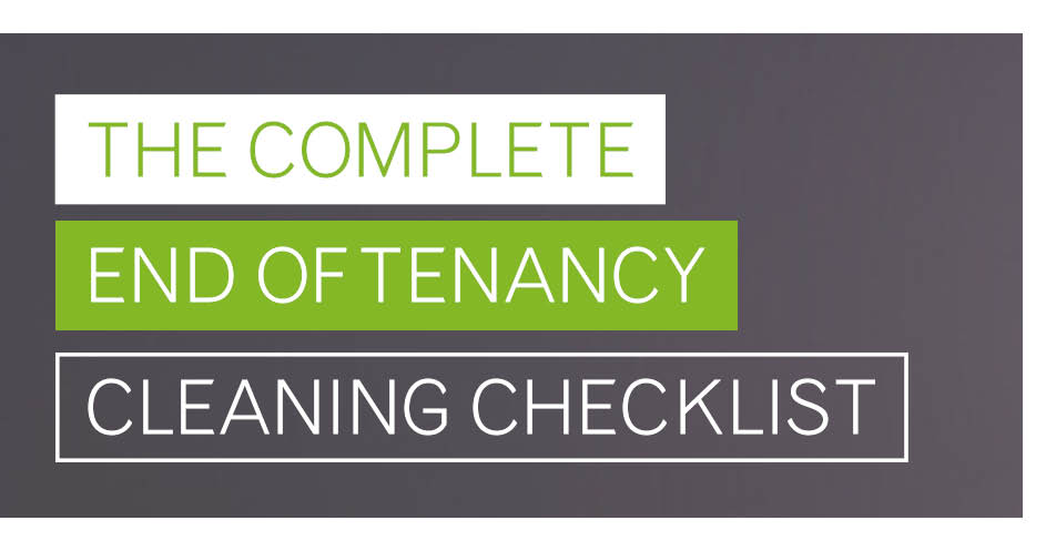 The Complete End of Tenancy Cleaning Checklist