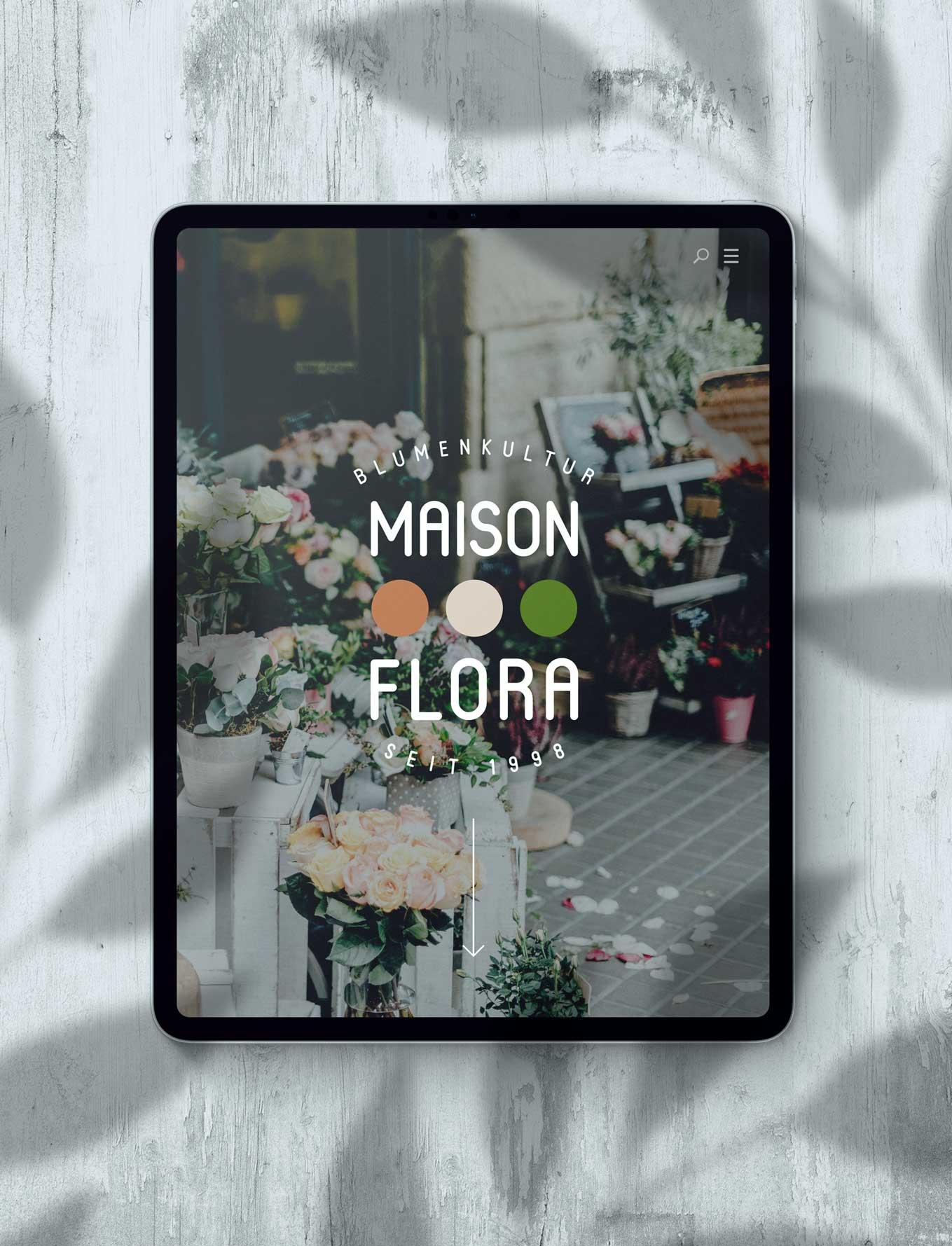 Logodesign für Florist Schweiz