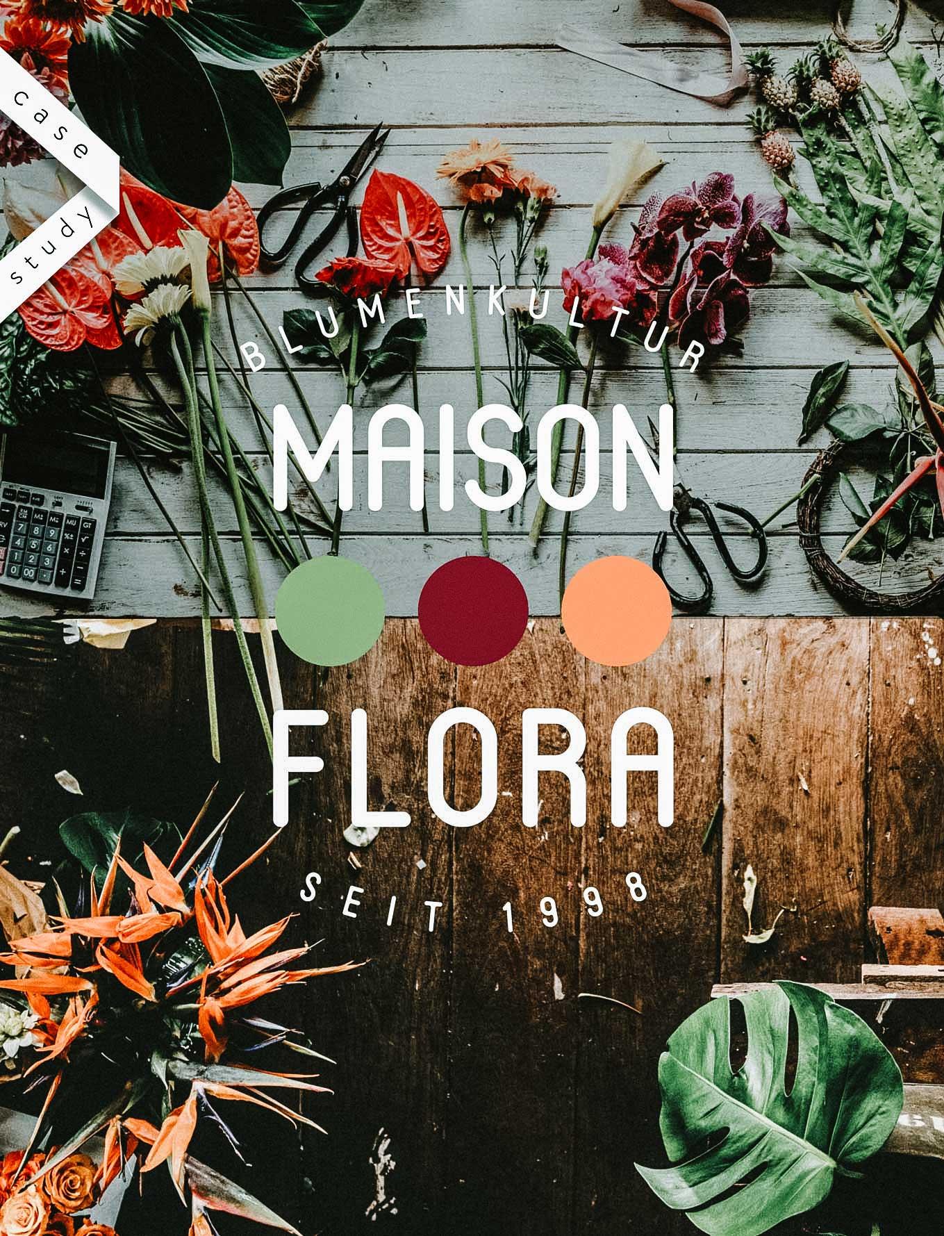 Logo Design Florist Geschäft Schweiz