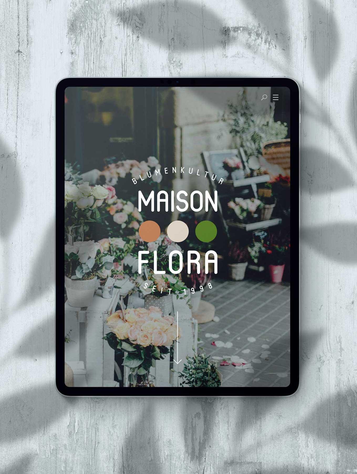 Webdesign Florist in Bern