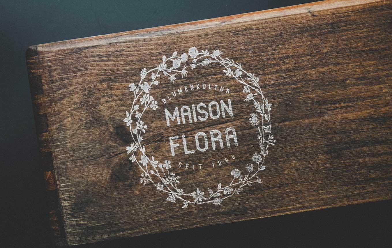 Logo Design für Florist Geschäft Schweiz in Bern