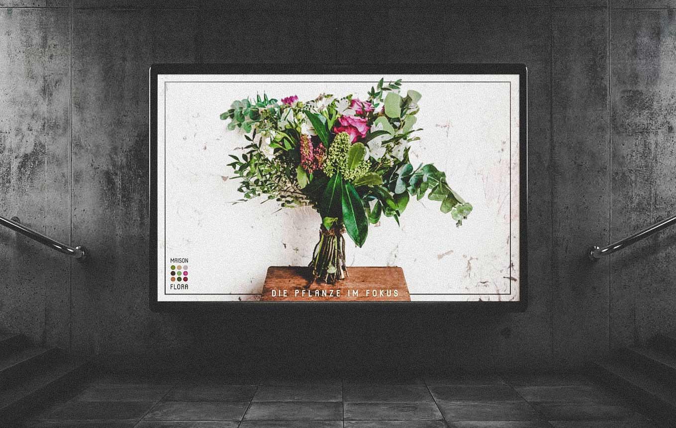 Aussenwerbung Plakatdesign für Schweizer KMU in Bern