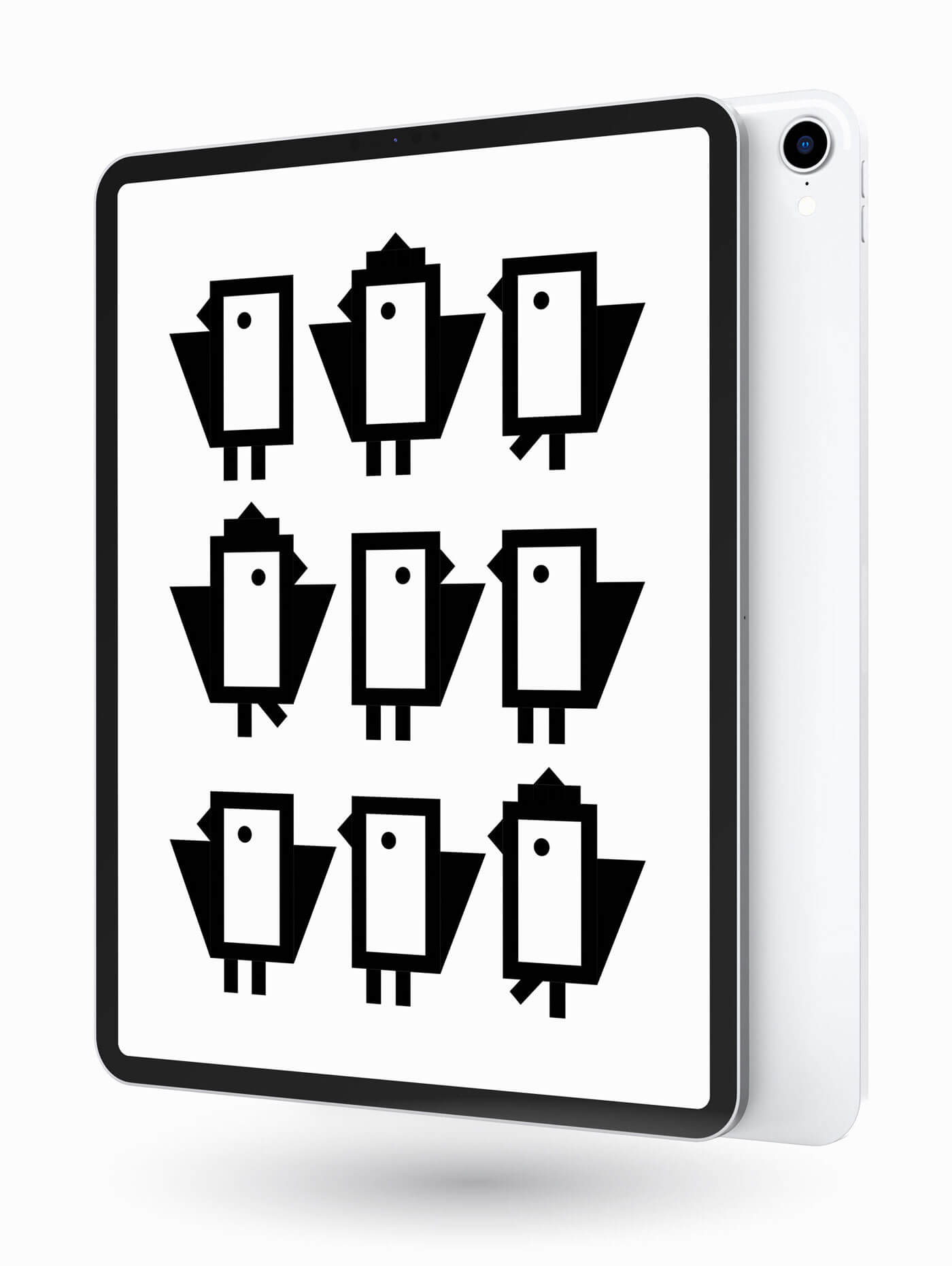 Logo Design und Illustration für Schweizer IT Unternehmen Byrds