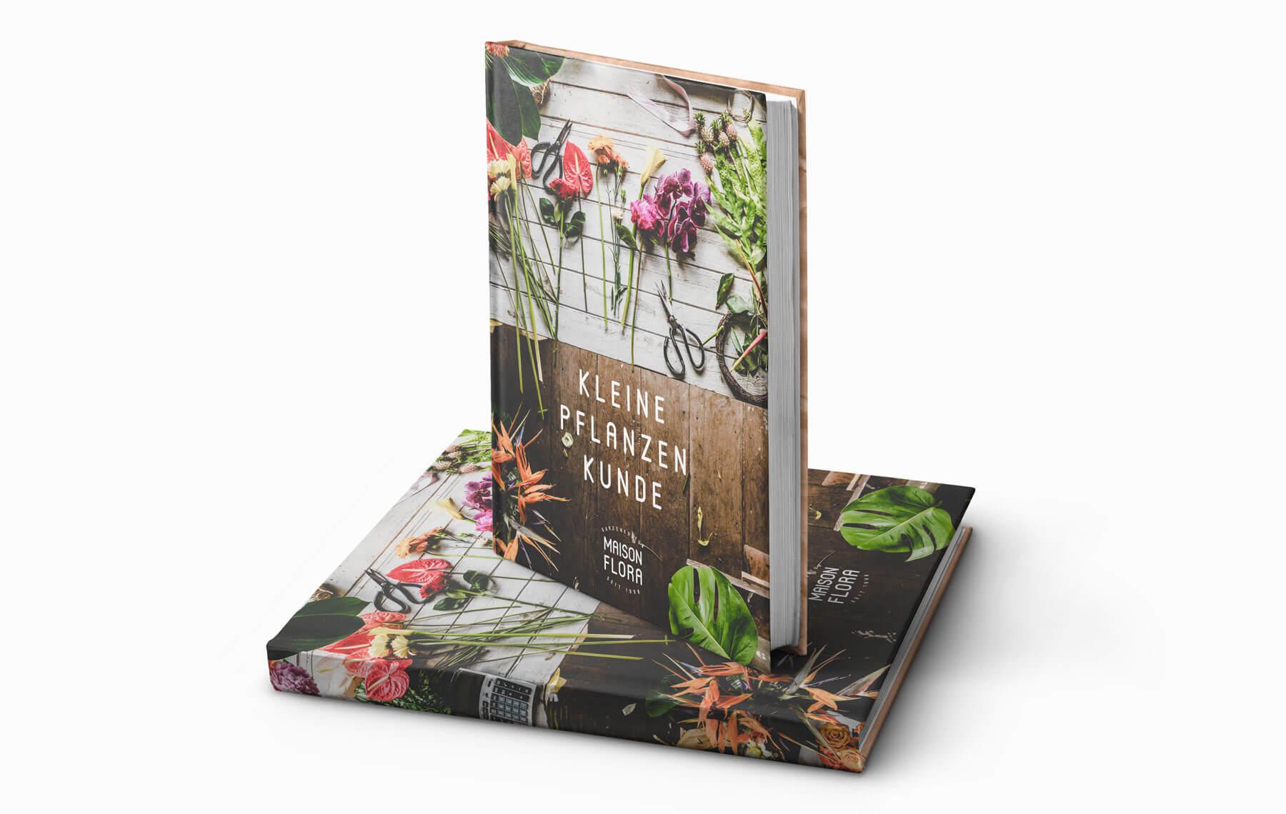 Print design for book Swiss KMU Florist