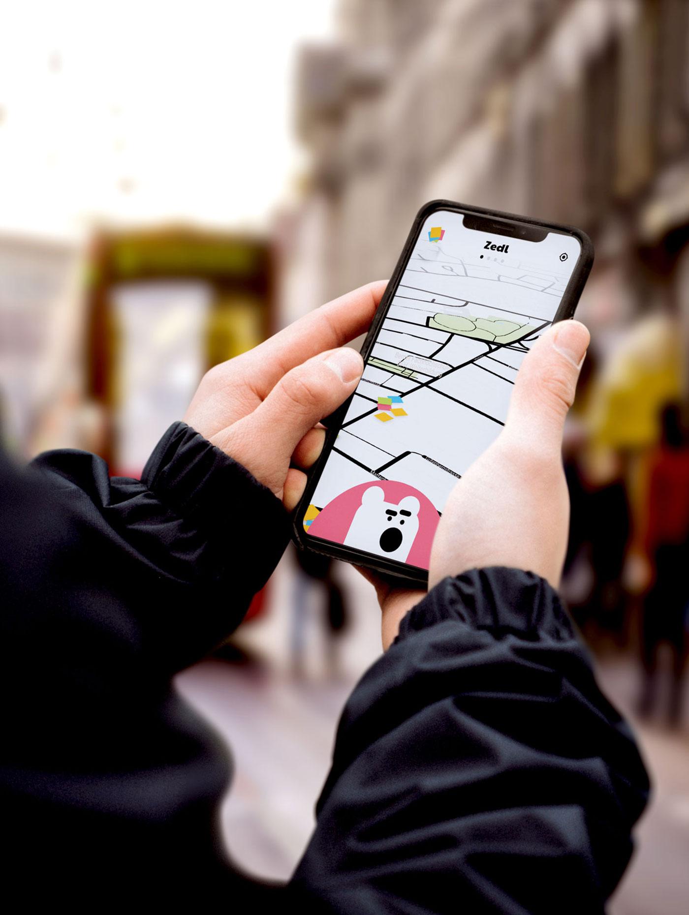 UI Design Schweizer App