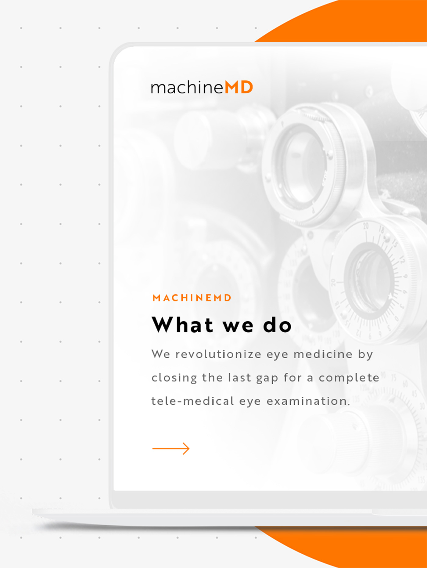 Webdesign Swiss Medtech Start-up