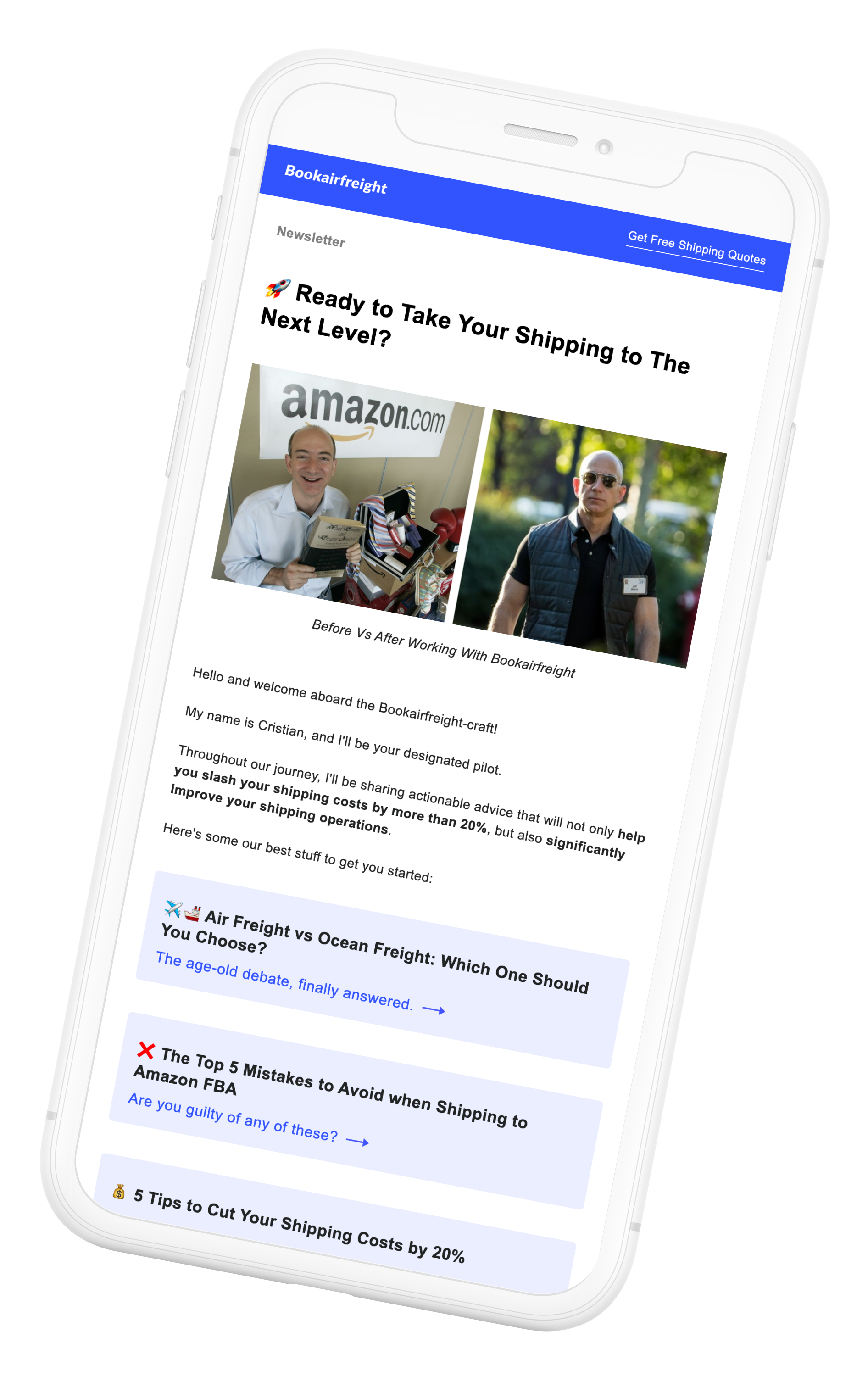 Logistics blog for SMEs and Amazon sellers