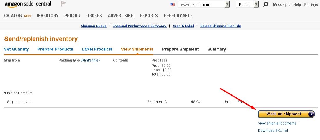 Bookairfreight how to find amazon reference ID