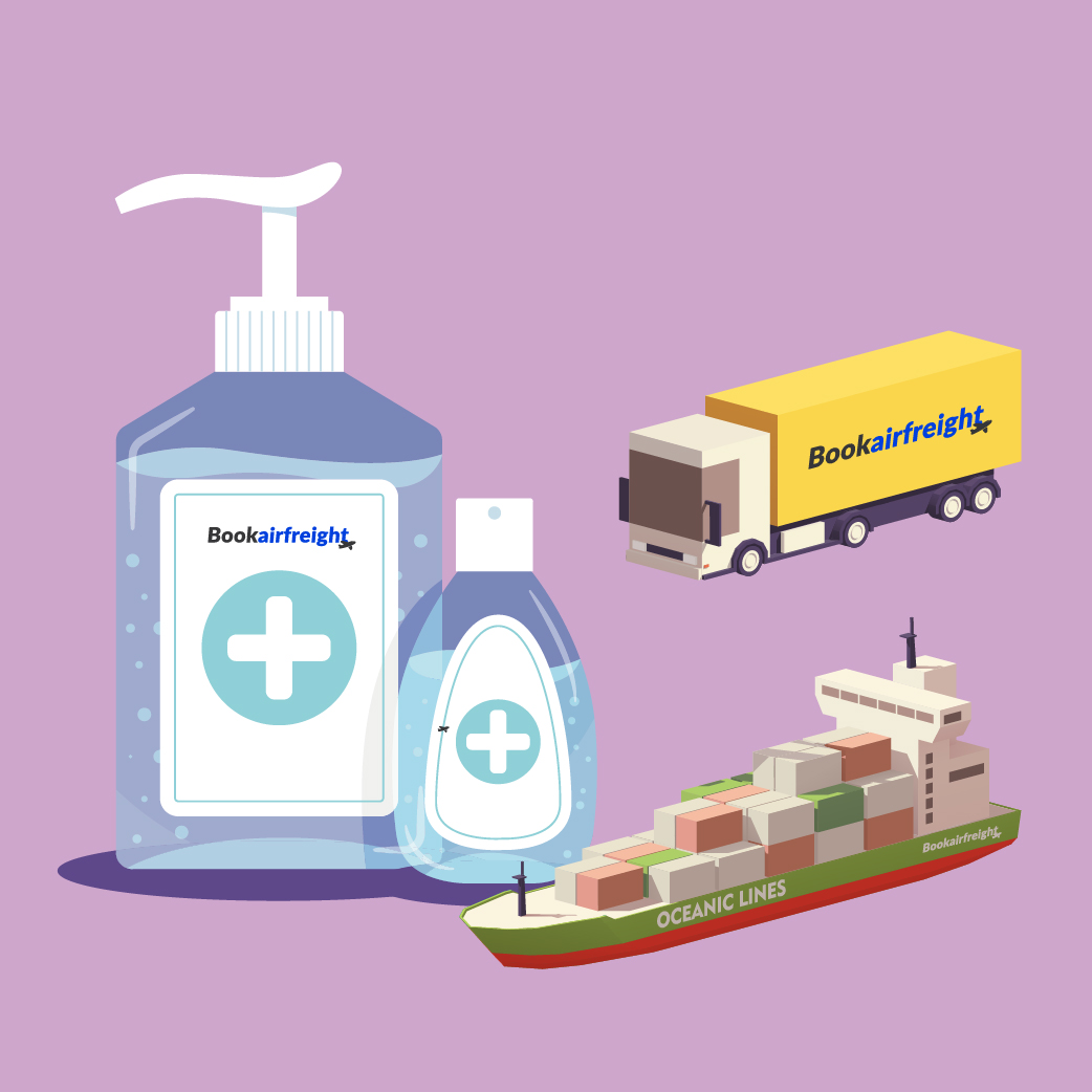 How to Ship Hand Sanitizers