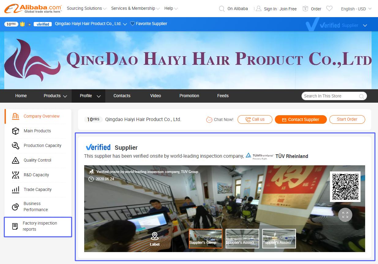 Top Alibaba hair vendors