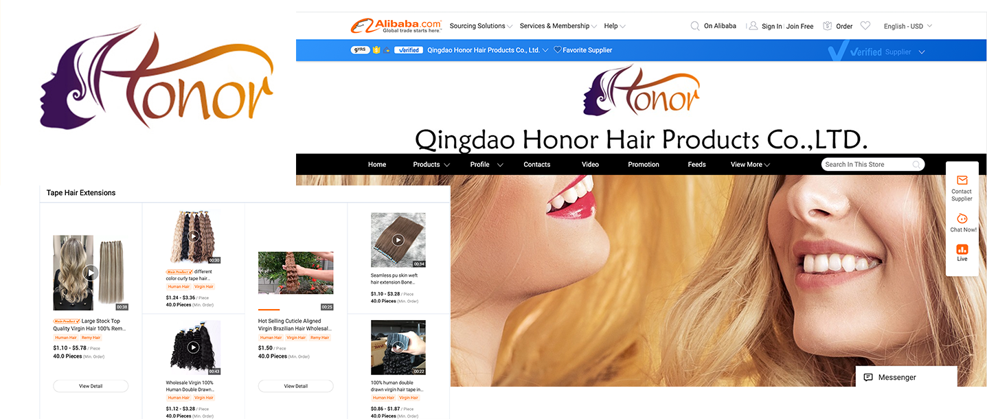 Brazilian hair suppliers in China