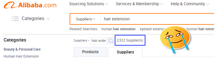 How to find hair vendors in china