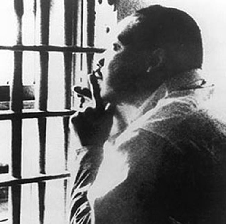 MLK Jr. in Birmingham Jail
