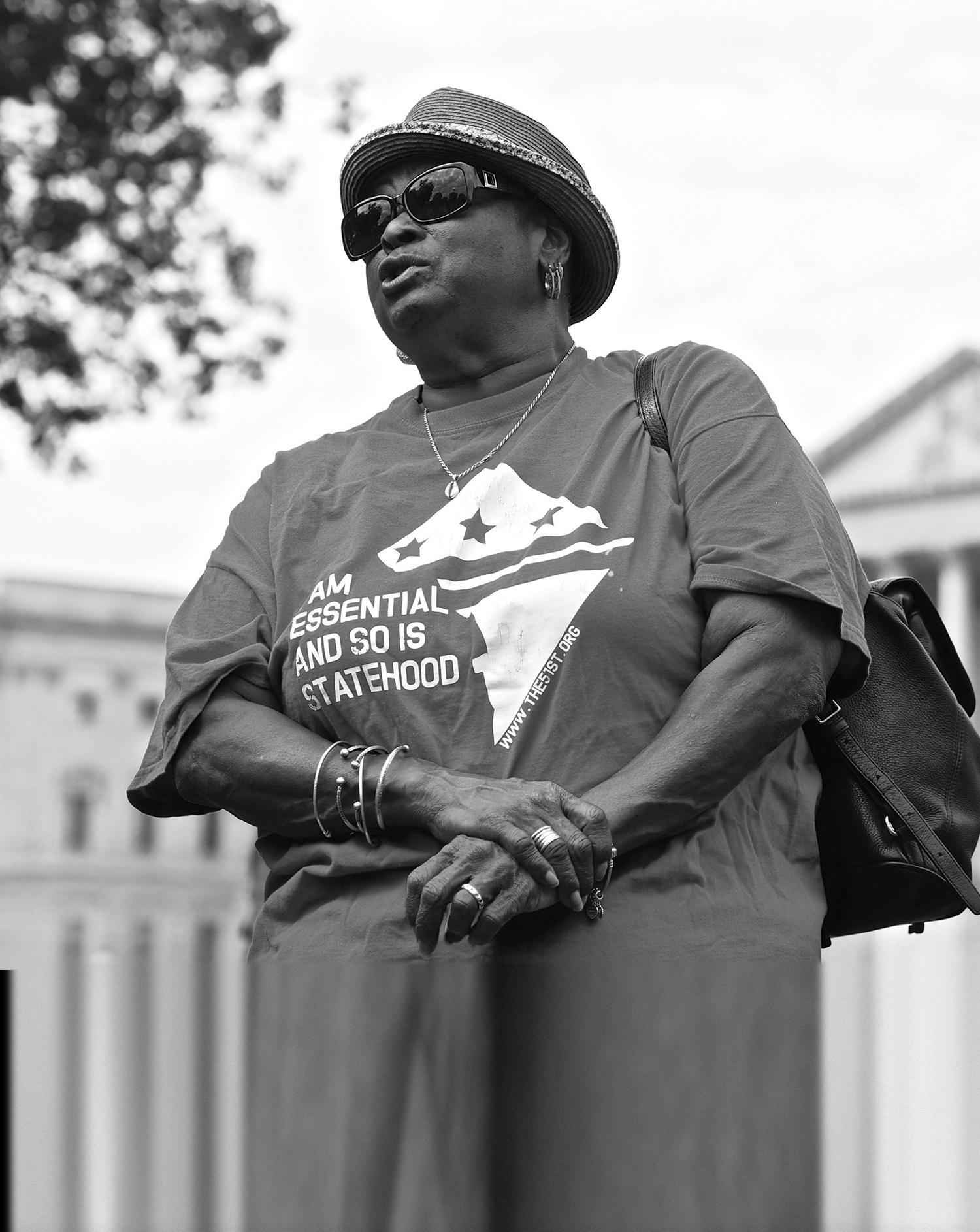 DC statehood activist