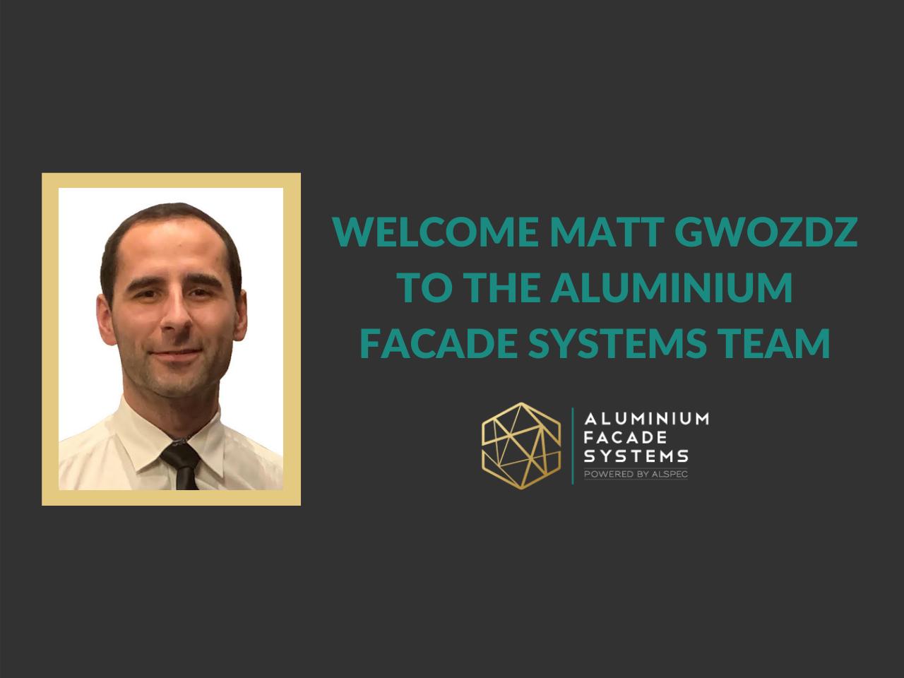Welcome Matt Gwozdz to the Team
