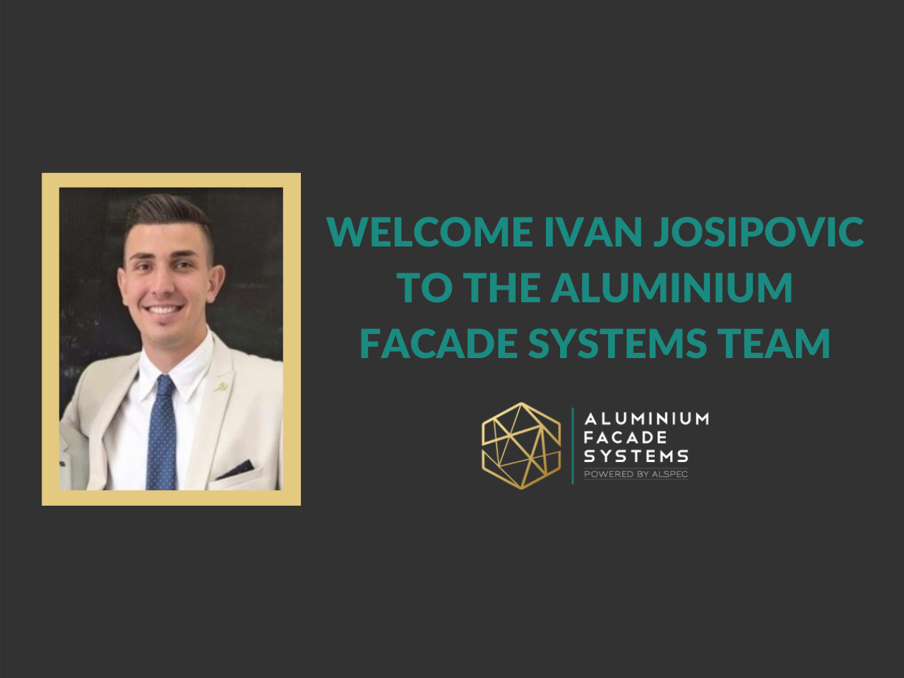 Welcome Ivan Josipovic to the Team