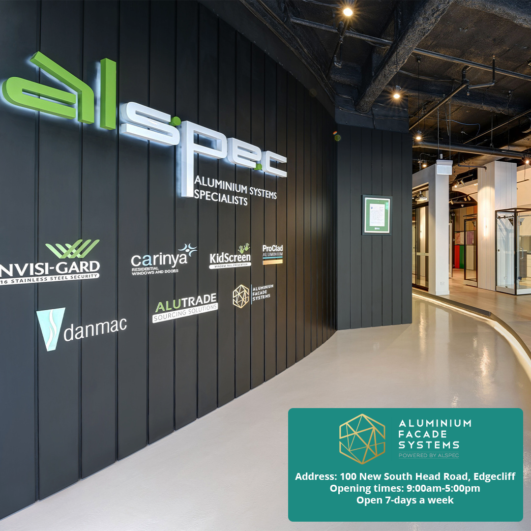 Discover the ProClad Wall in the new Sydney AluSpace by Alspec