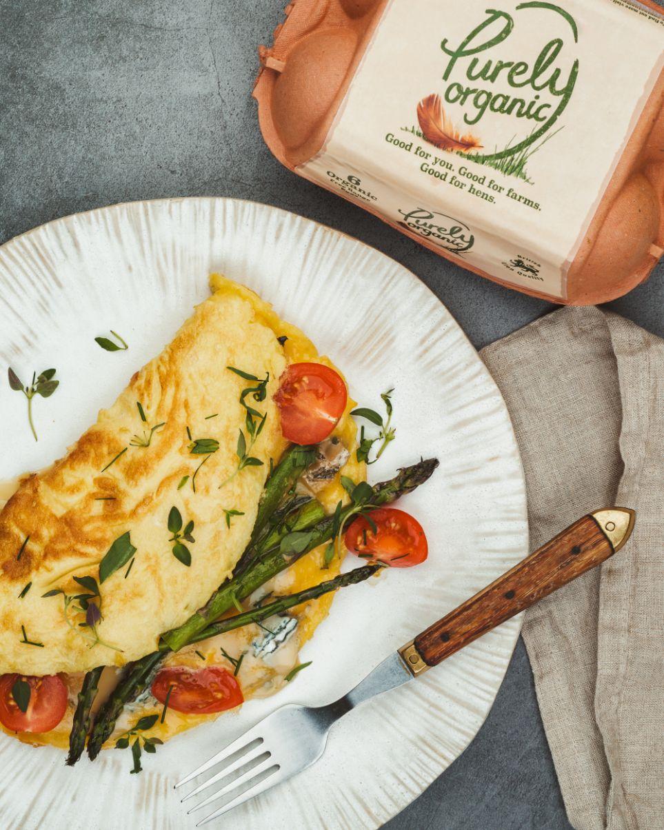 Gorgonzola Omelette