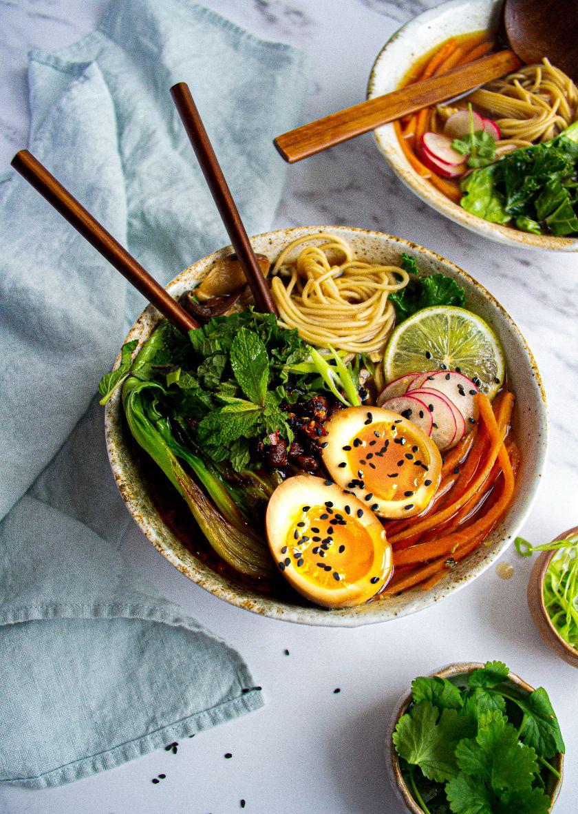 Miso Vegetable Ramen