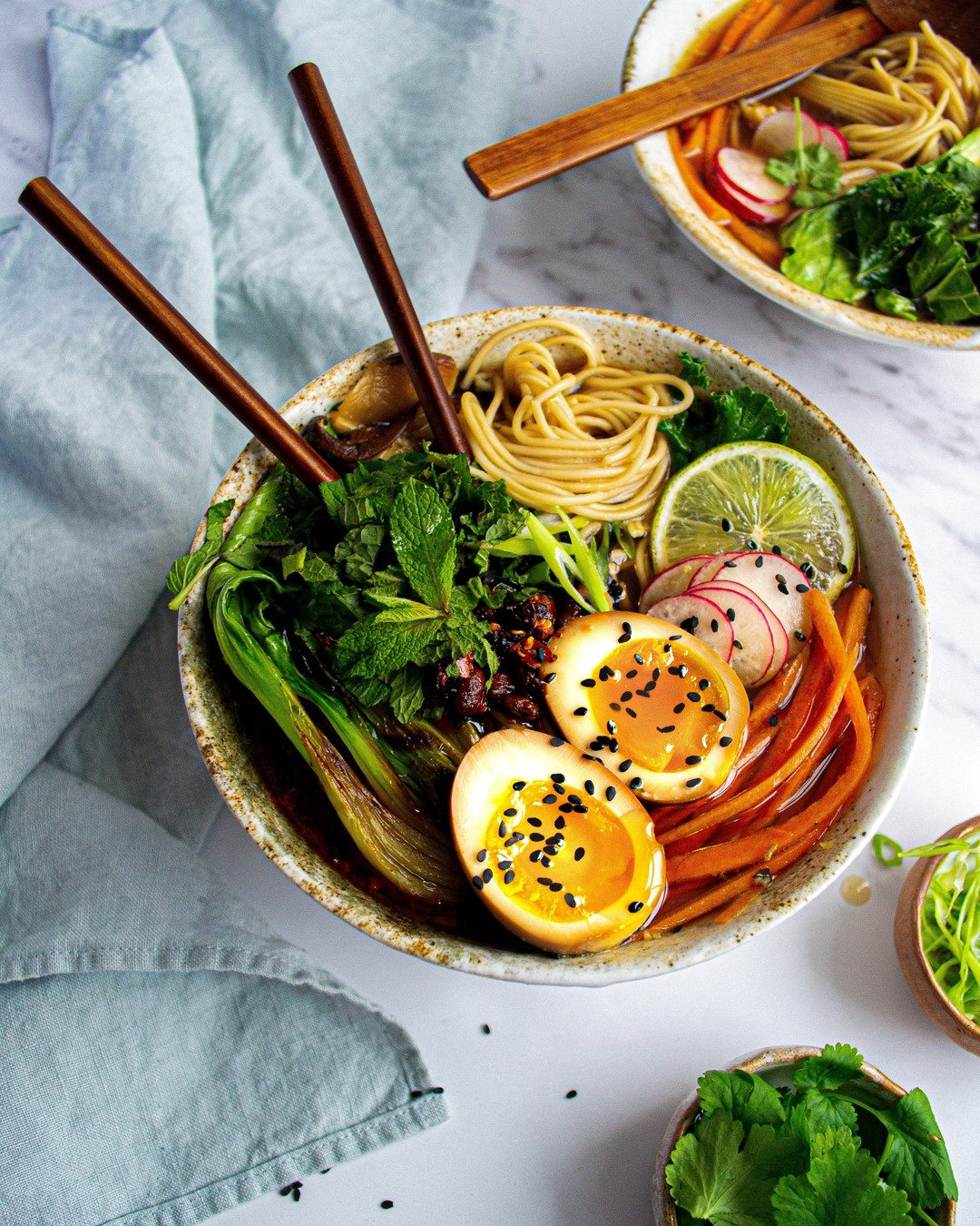 Want this Miso Vegetable Ramen too? Check out our website for the full recipe.