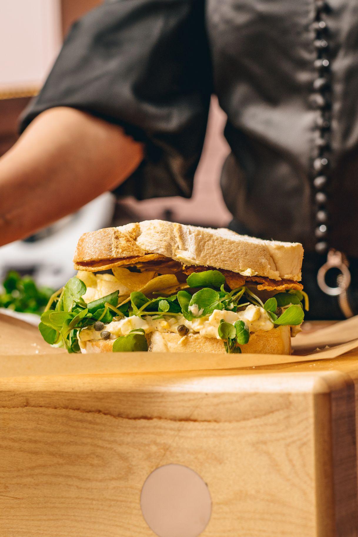 The Ultimate Egg Mayonnaise Sandwich