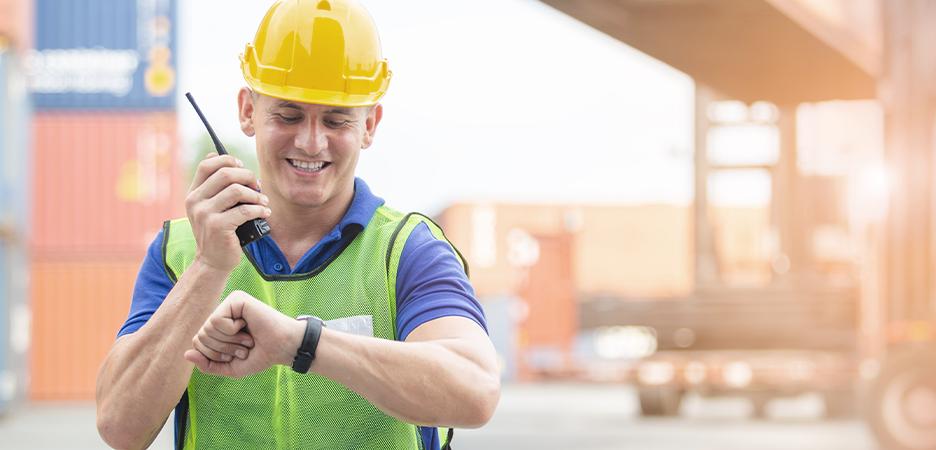 Características de la radiocomunicación que mejora la productividad en la industria