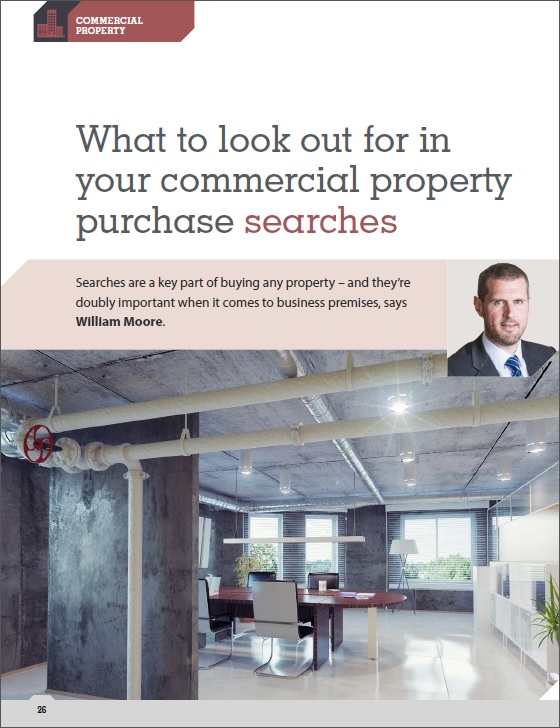 Commercial Property Searches