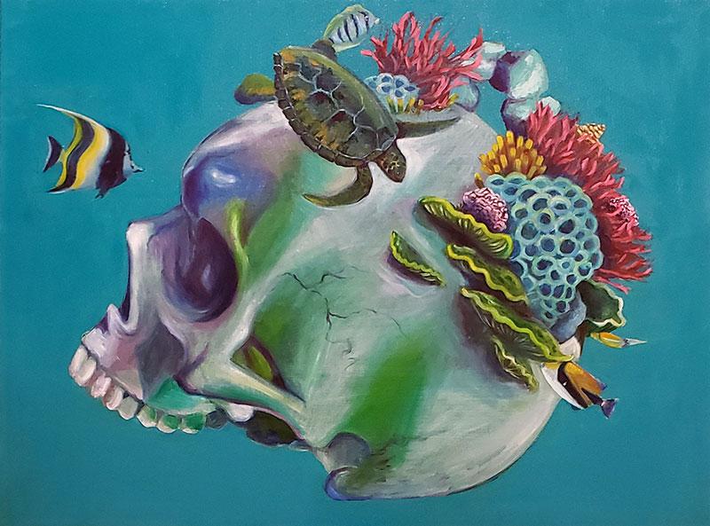 Paintings & Drawings by Tobin Garth Karicher