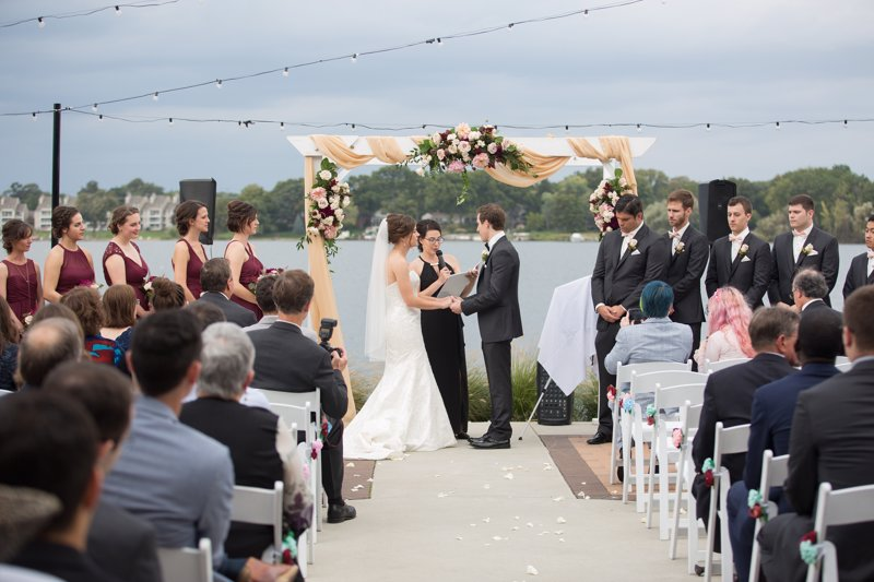 Outdoor wedding smaller