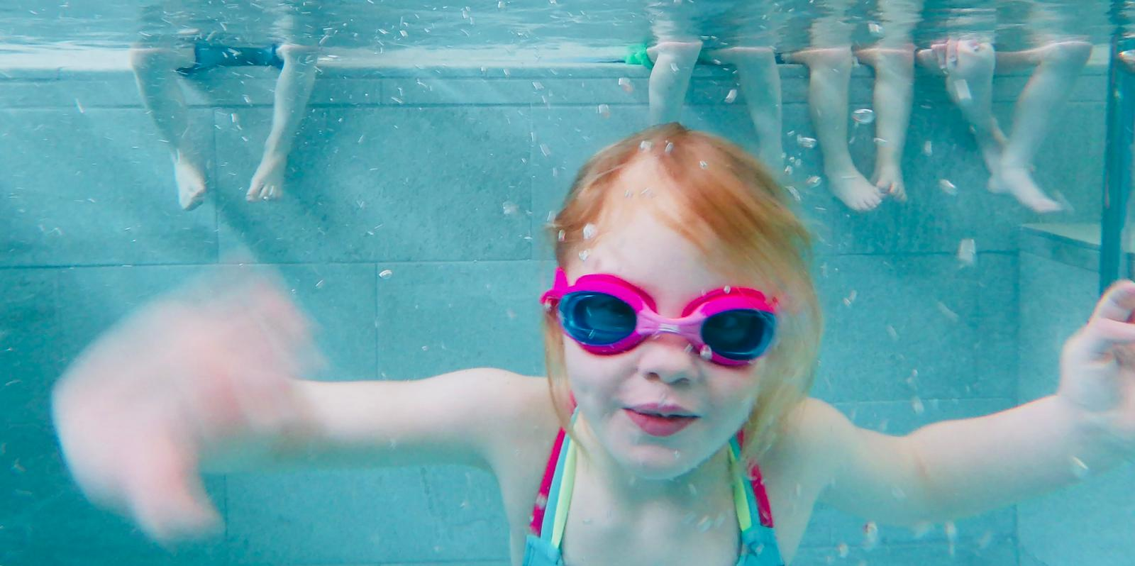 swimming lessons newquay swimmer