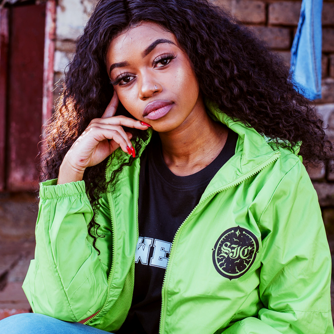 Lime Windbreaker  Soweto Ink, Soweto, Tattoo Shop, Tattoo Store, Tattoos, Tattoo, Celtic Art, Celtic Tattoo, Tribal Tattoo, fine line art, art, Tattoo Studio, Piercing, Merchandise, Tattoo Design, Shop, Earrings, belly rings, nose rings, ink, get inked, tattoo sleeve, sleeves, tattoo designs, designs, body piercing, Johannesburg, Gauteng, south Africa, Tattoo shops in soweto, Soweto tattoo shops, affordable, price, portrait tattoos, 3D Tattoos, Abstract Tattoos, Ambigram Tattoos, Anatomical tattoos, Biomechanical Tattoos, Blackwork, blackout, Geometric, Graffiti, Hyper realistic, Lettering tattoo, line tattoos, mandala, mayan tattoo, minimalist tattoo, minimalistic tattoos, norse tattoo, Outline tattoo, Pop art tattoo, portrait tattoo, quote tattoo, buy now, cheap, bargain, fair price, Rands, South African, Proudly South African, Soweto Ink Tattoo Convention, @SowetoInk, #SowetoInk