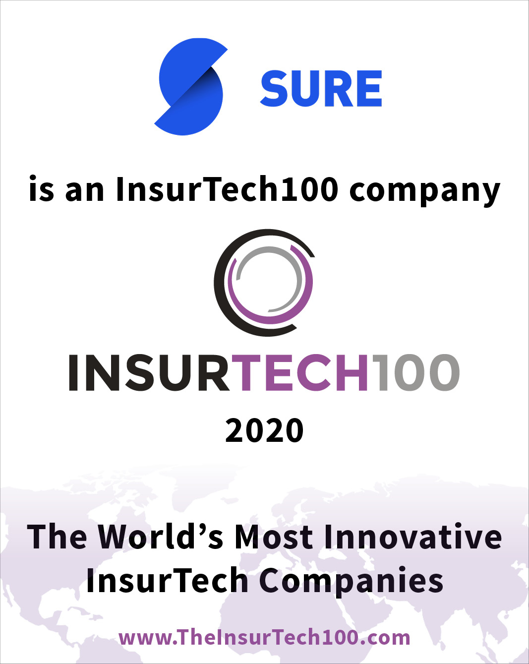 Sure is an InsurTech100 company