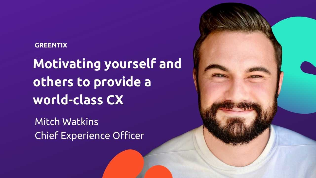 When world-class customer experience is the aim - personal and team motivation is key