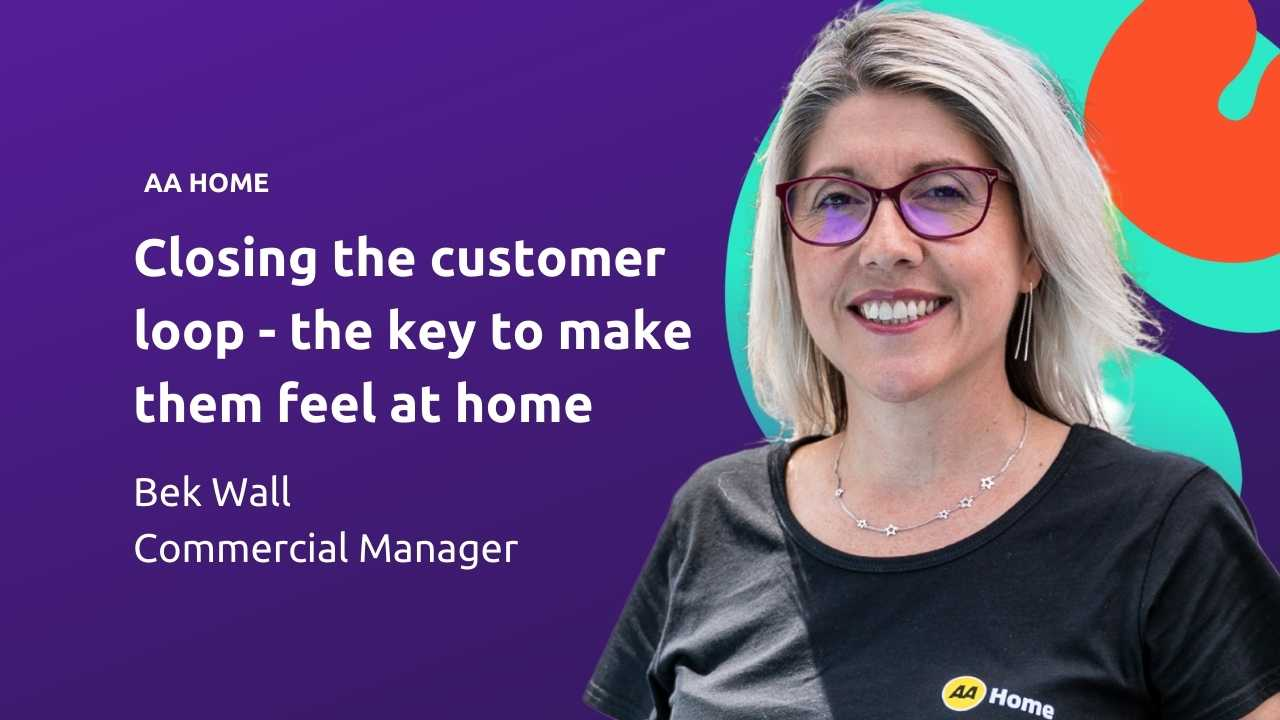 It's all about making customers feel 'at home'...