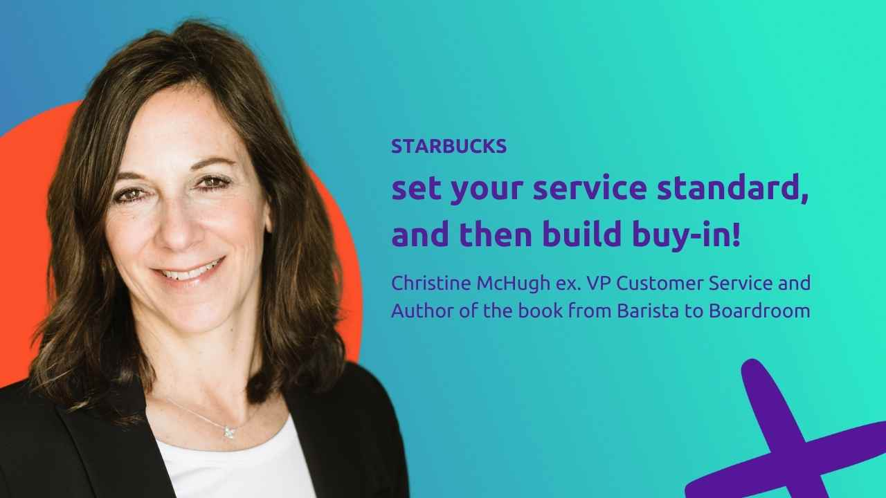 Set your service standard, and then build buy-in