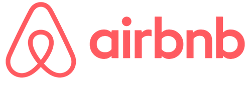 airbnb logo in pink