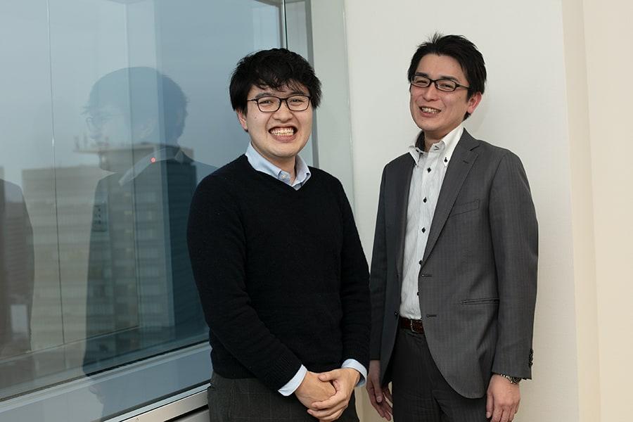 川島氏、佐藤氏の写真
