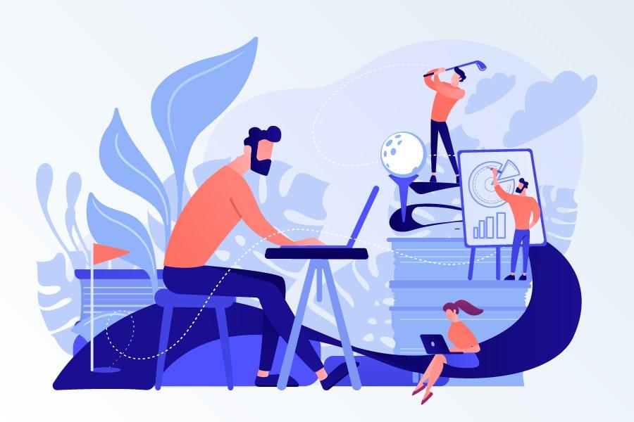 「働くを遊ぶ」のイメージ画像