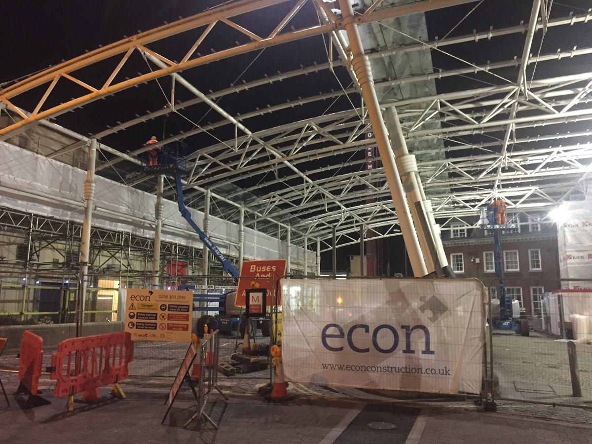 Woking Station Canopy