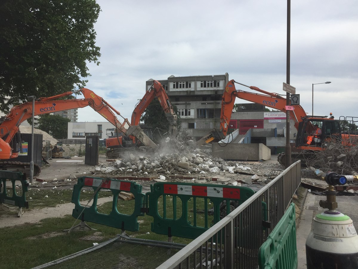 Bridge Demolition - Abbey Wood