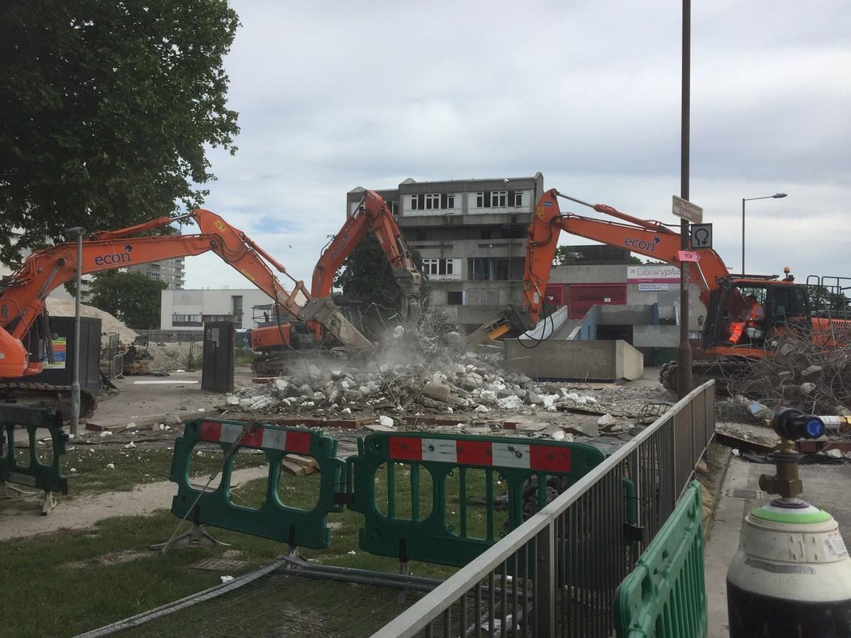 Bridge Demolition - Abbey Wood
