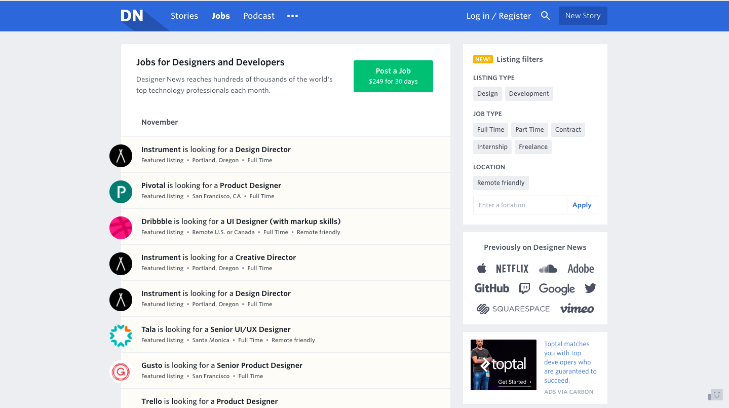 ux ui freelance projects