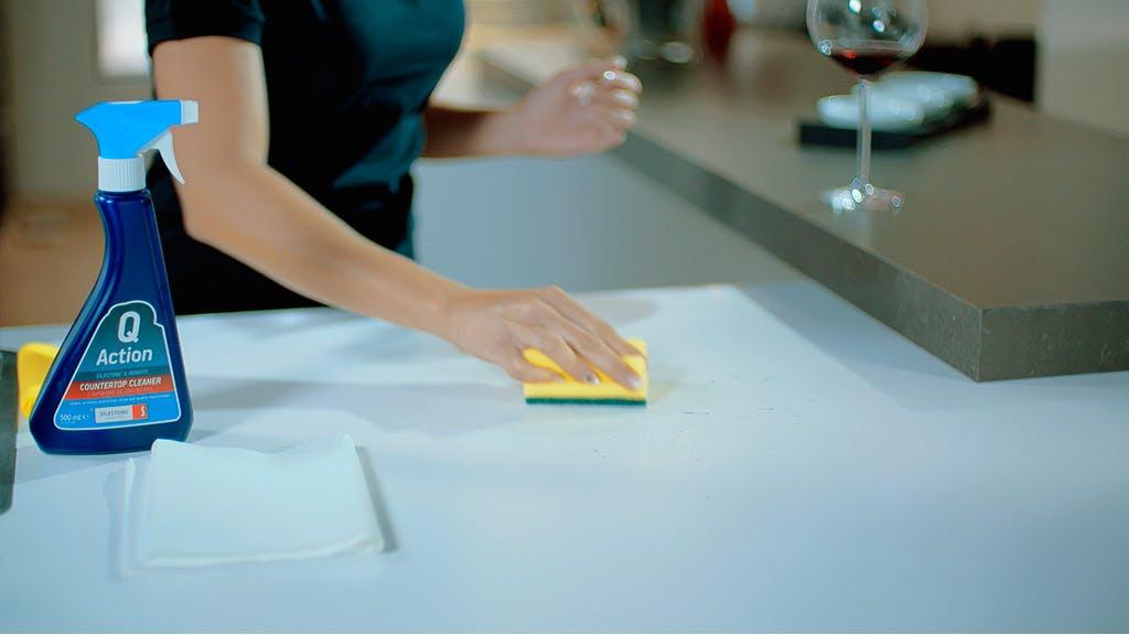 Remove Wine Stain from Dekton Worktops