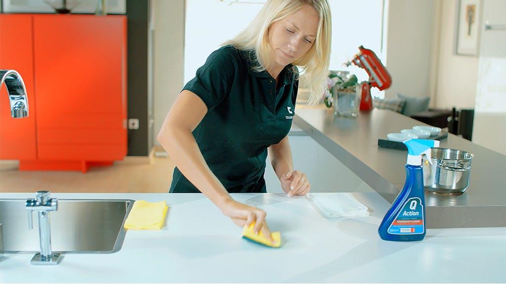 Remove Metal Stain from Dekton Worktops