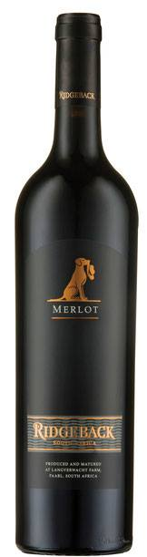 Ridgeback Merlot  2015