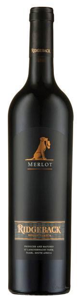 Ridgeback Merlot  2017