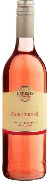 Dekker's Valley Shiraz Rosé 2020