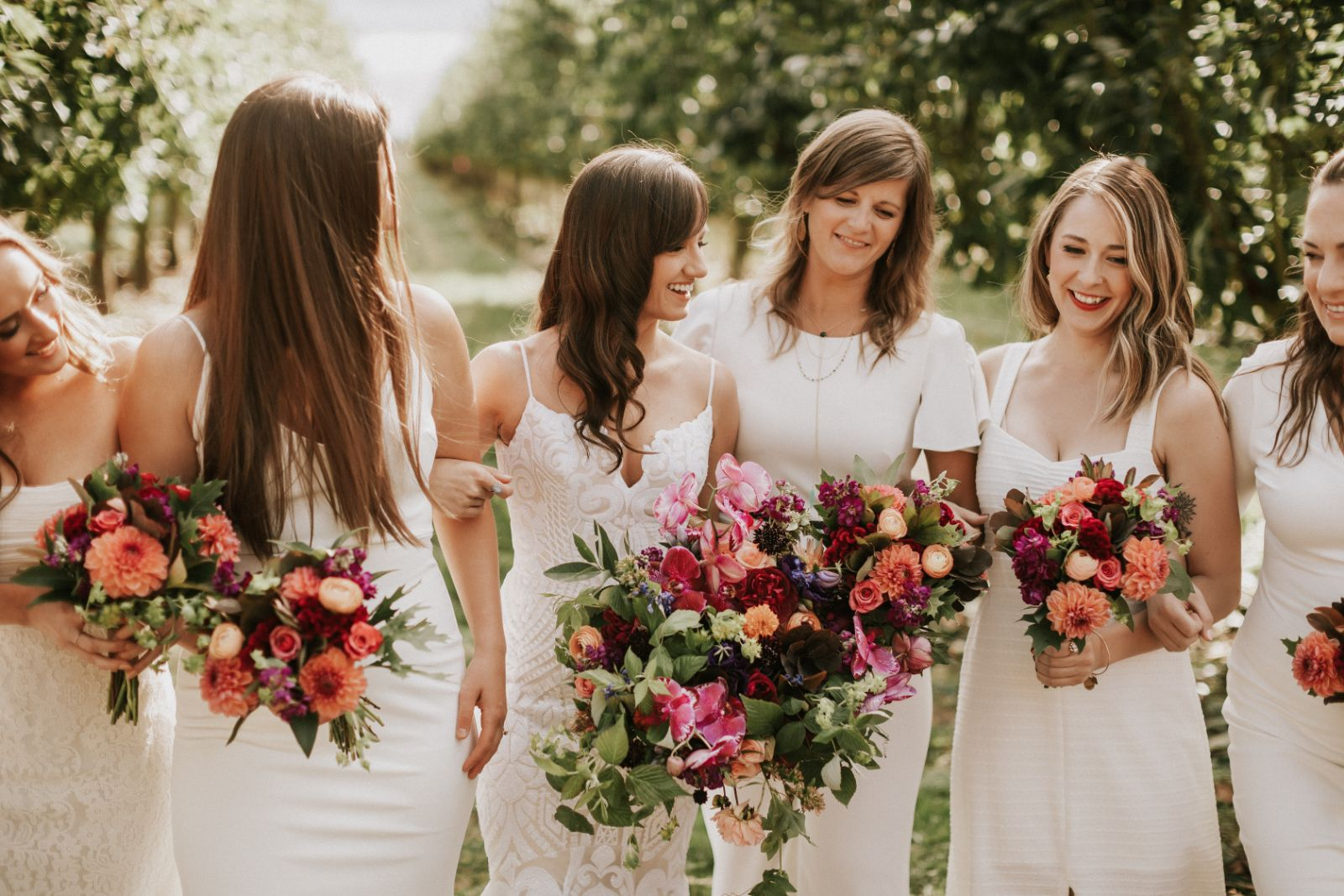 Wedding floral design in Portland OR